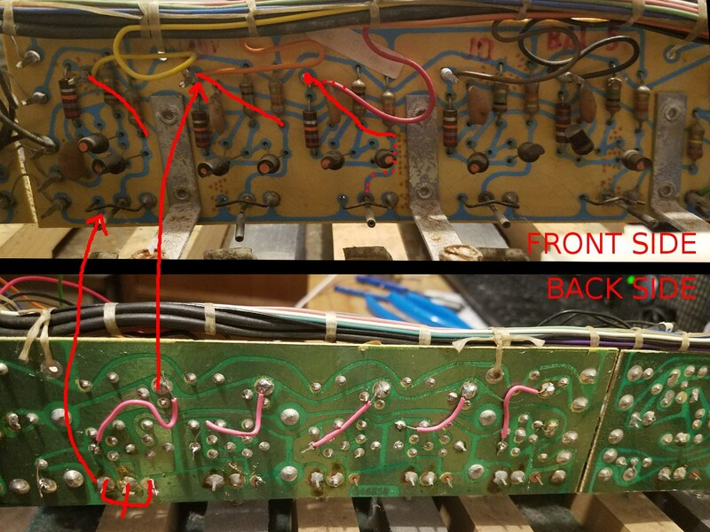 the original control board